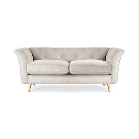 Jaipur 2 Seater Sofa Brushed Plain Fabric