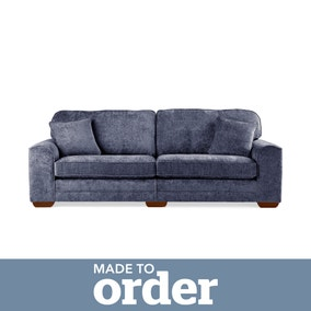 Morello 4 Seater Sofa Luxury Chenille