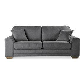 Morello 3 Seater Sofa Brushed Plain Fabric