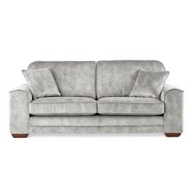 Morello 3 Seater Sofa Slub Velvet