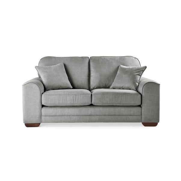 Morello 2 Seater Sofa Brushed Plain Fabric Brushed Plain Graphite
