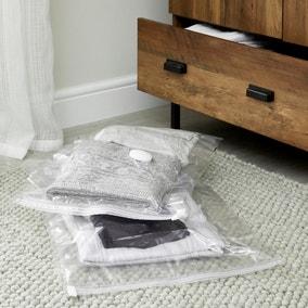 Set of 2 Medium and Small Vacuum Storage Bags