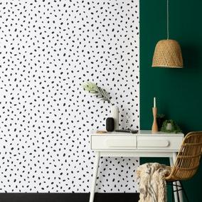 Spot Monochrome Wallpaper