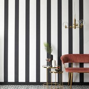 Mono Stripe Wallpaper