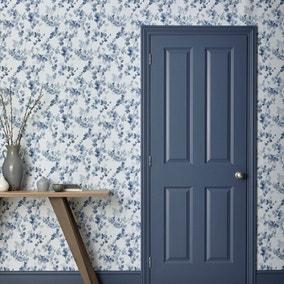 Honesty Blue Wallpaper