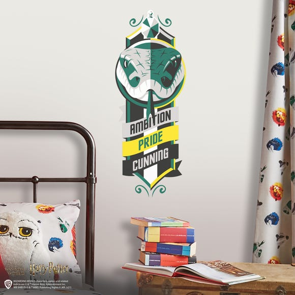 Harry Potter Slytherin Small Wall Stickers Green