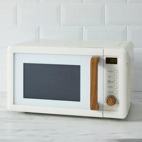 Contemporary Cream 20L Microwave