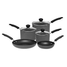 Dunelm Hard Anodised 5 piece Cookware Set