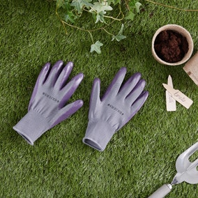 Seed and Weed Grey Gardening Gloves