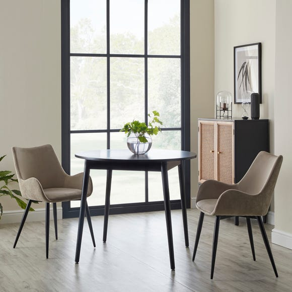 Avery Carver Chair Mink