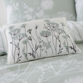 Catherine Lansfield Meadowsweet Floral Cushion