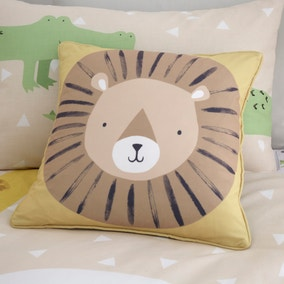 Catherine Lansfield Roarsome Animals Cushion