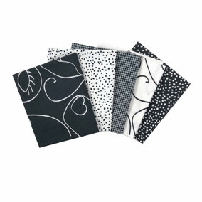 Monochrome Cotton Fat Quarters