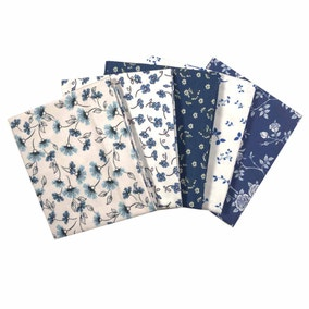 Petite Studio Navy Blue Fat Quarters