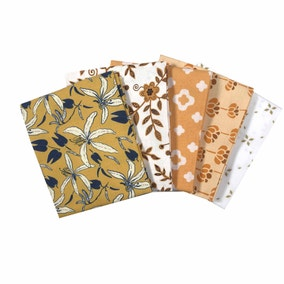 Countryside Mustard Cotton Fat Quarters