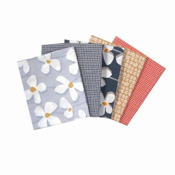 Elements Textures Cotton Fat Quarters MultiColoured