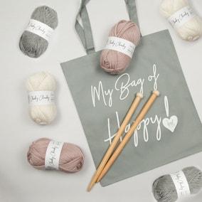 Wool Couture Hannah Blanket Knitting Kit