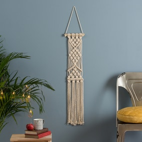 Wool Couture Lottie Lou Macrame Cream Wall Hanging Kit