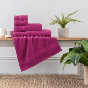 Magenta Egyptian Cotton Towel