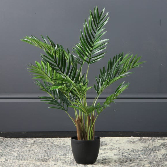 Artificial Real Touch Areca Palm 70cm Green