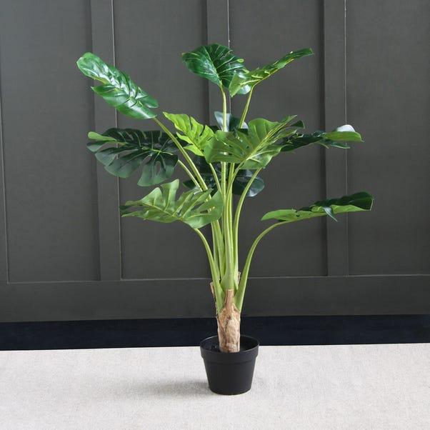 Artificial Monstera Tree  Green