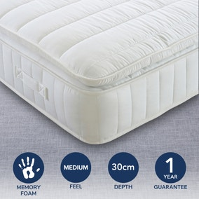 Medium 1000 Pocket Pillowtop Mattress