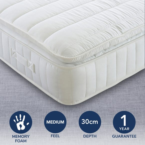 Medium Pocket Pillowtop 1000 Memory Mattress  undefined