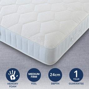 Egyptian Cotton Medium Firm Orthopaedic Memory Foam Mattress