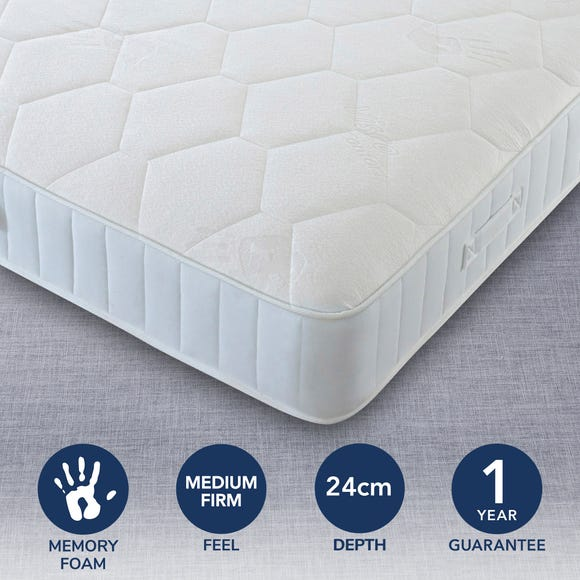Medium Firm Orthopeadic Memory Mattress  undefined