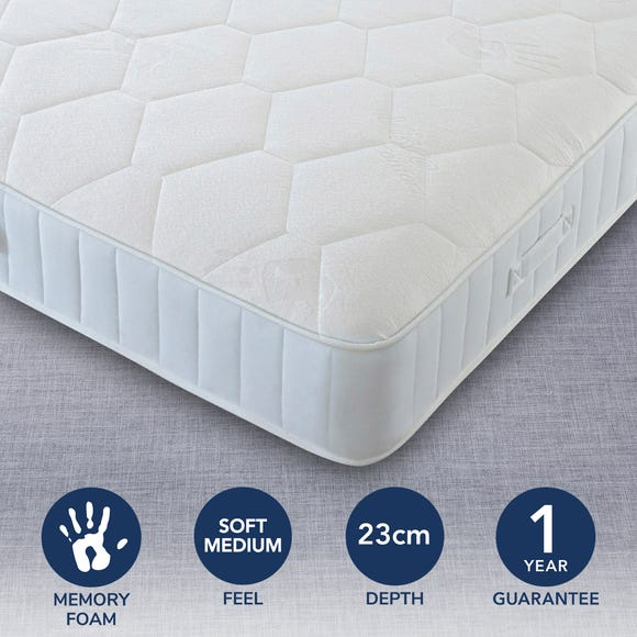 Comfort Master Soft Medium Memory Mattress  undefined