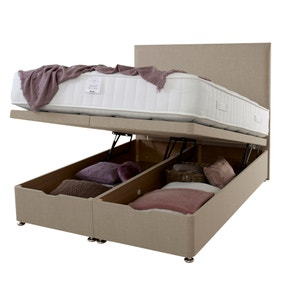 End Opening Ottoman Bed