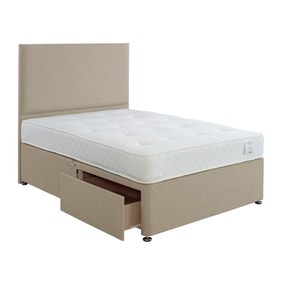 Superior Comfort Divan Bed with Mattress