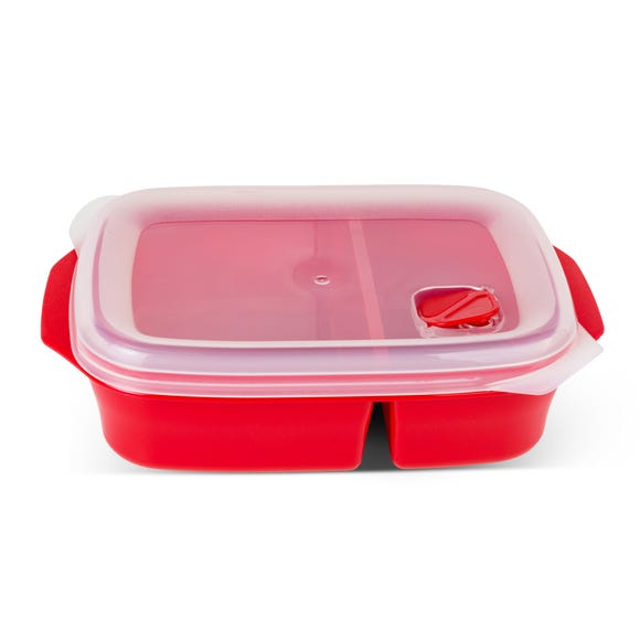 Good2Heat Plus 1.3L Divided Container Red