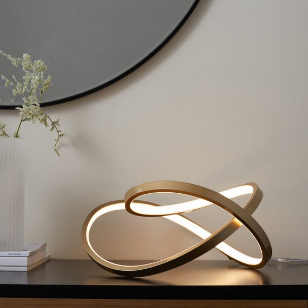 Cortez Table Lamp Gold