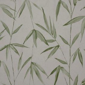 Bamboo Grass Green PVC