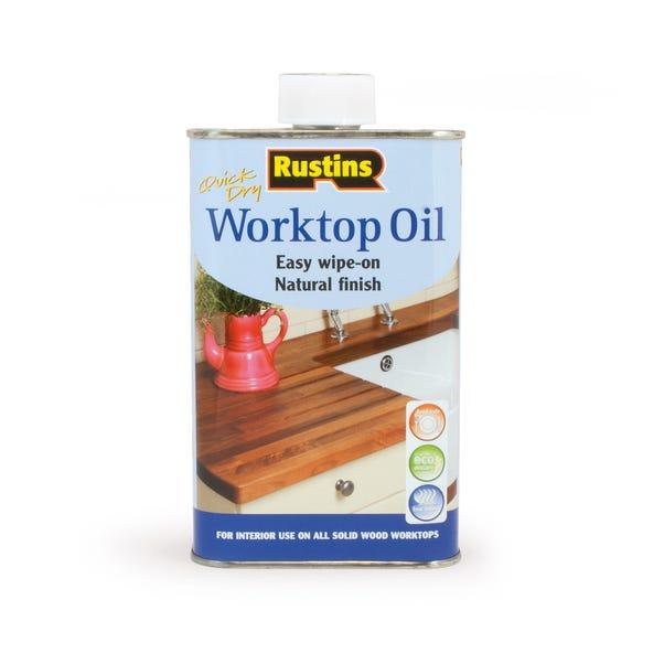 Rustins 500ml Worktop Oil Natural