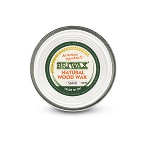 Briwax 125g Natural Wood Wax