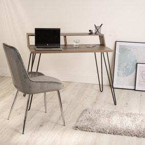 Bea Oak Effect Smart Desk