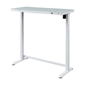 Juno White Adjustable Standing Smart Desk