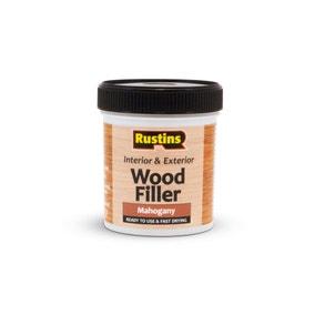Rustins 250ml Quick Dry Wood Filler Mahogany