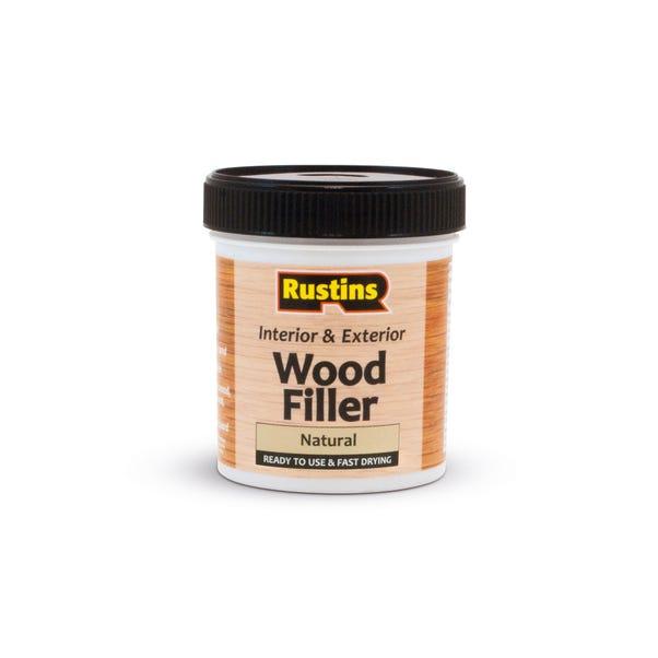 Rustins 250ml Quick Dry Wood Filler Natural Natural