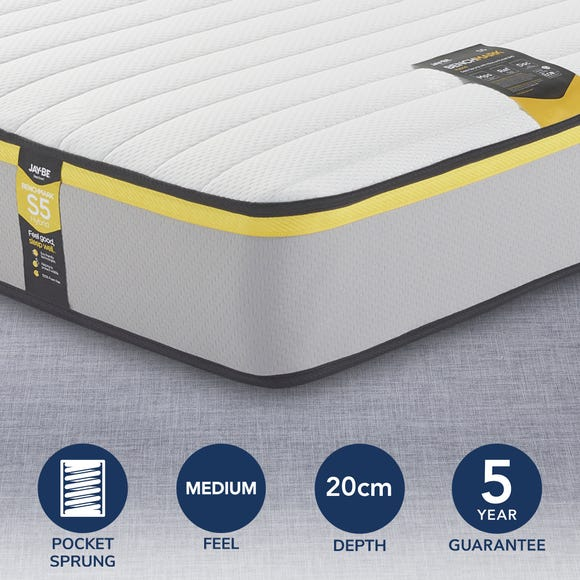 Jay-Be Benchmark S5 Hybrid Pocket Sprung Mattress  undefined