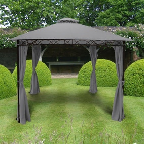 Marco Polo 3m x 3m Grey Gazebo