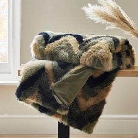 Eska Faux Fur Throw