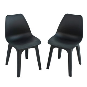 Eolo Pack of 2 Matte Chairs