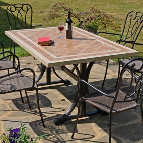 Hampton 6 Seater Dining Set with Ascot Chairs