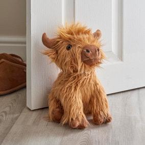 Highland Cow Door Stop