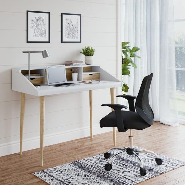 Yeovil Desk White