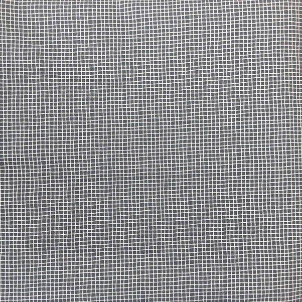 Elements Juni Check Craft Cotton Fabric Grey