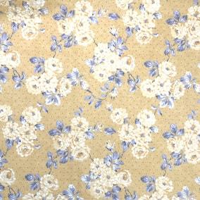 Ashbourne Ochre Craft Cotton Fabric